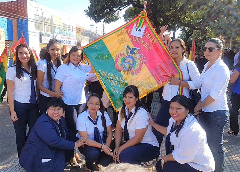 6 de Agosto_Dia de la Patria_Plantel docente1